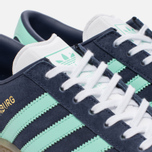 Женские кроссовки adidas Originals Hamburg Midnight Grey/Easy Green/Gum фото- 5