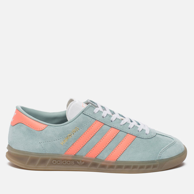 Женские кроссовки adidas Originals Hamburg Tactile Green/Sun Glow/Gum