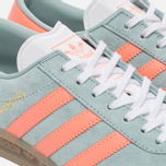 Женские кроссовки adidas Originals Hamburg Tactile Green/Sun Glow/Gum фото- 5