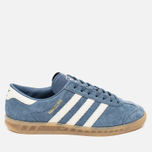 adidas Originals Hamburg Women's Sneakers Tech Ink/Off White/Gum photo- 0