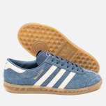 adidas Originals Hamburg Women's Sneakers Tech Ink/Off White/Gum photo- 1