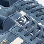 Женские кроссовки adidas Originals Hamburg Tech Ink/Off White/Gum фото- 3