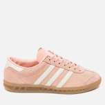 Женские кроссовки adidas Originals Hamburg Vapour Pink/Off White/Gum фото- 0