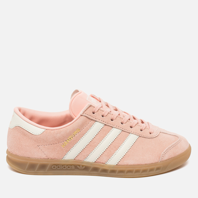 Женские кроссовки adidas Originals Hamburg Vapour Pink/Off White/Gum