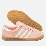 Женские кроссовки adidas Originals Hamburg Vapour Pink/Off White/Gum фото- 1