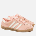 Женские кроссовки adidas Originals Hamburg Vapour Pink/Off White/Gum фото- 2