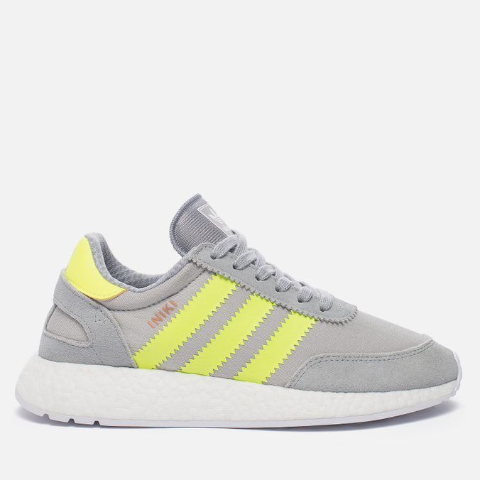 Женские кроссовки adidas Originals Iniki Runner Boost Clear Onix/Solar Yellow/White