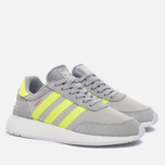 Женские кроссовки adidas Originals Iniki Runner Boost Clear Onix/Solar Yellow/White фото- 2