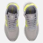 Женские кроссовки adidas Originals Iniki Runner Boost Clear Onix/Solar Yellow/White фото- 4