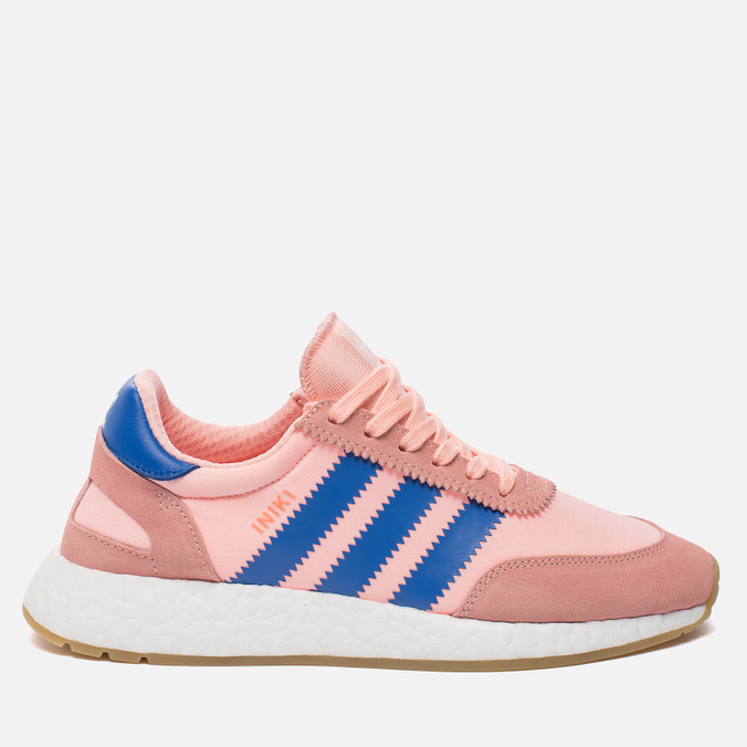 Женские кроссовки adidas Originals Iniki Runner Boost Haze Coral/Blue/Gum