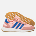 Женские кроссовки adidas Originals Iniki Runner Boost Haze Coral/Blue/Gum фото- 1