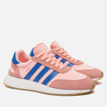 Женские кроссовки adidas Originals Iniki Runner Boost Haze Coral/Blue/Gum фото- 2