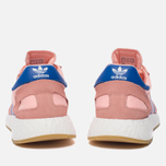 Женские кроссовки adidas Originals Iniki Runner Boost Haze Coral/Blue/Gum фото- 5