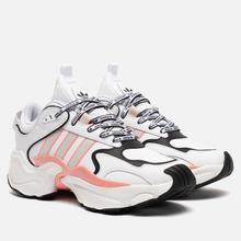 Женские кроссовки adidas Originals Magmur Runner Cloud White/Grey/Glory Pink фото- 0