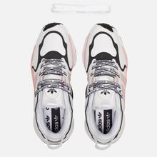 Женские кроссовки adidas Originals Magmur Runner Cloud White/Grey/Glory Pink фото- 1