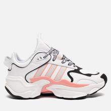 Женские кроссовки adidas Originals Magmur Runner Cloud White/Grey/Glory Pink фото- 3