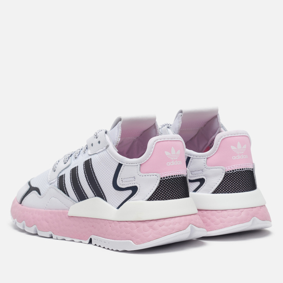 Женские кроссовки adidas Originals Nite Jogger Cloud White/True Pink/Core Black
