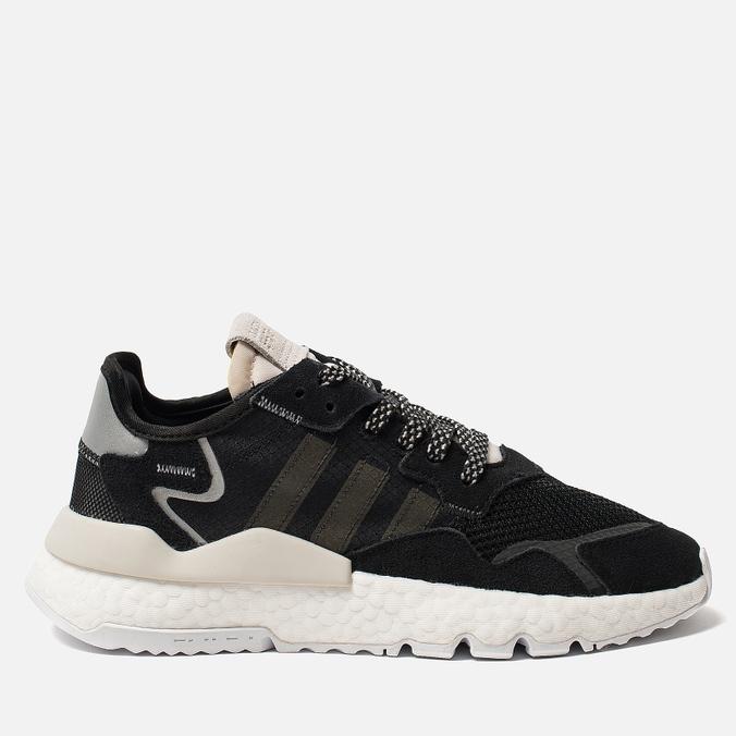 Женские кроссовки adidas Originals Nite Jogger Core Black/Carbon/Raw White