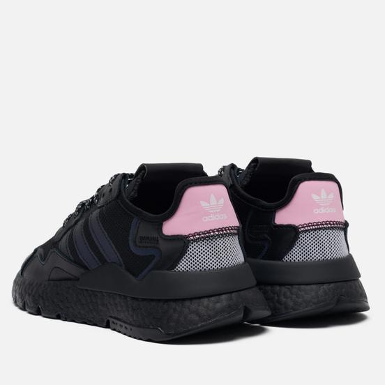 Женские кроссовки adidas Originals Nite Jogger Core Black/True Pink/Cloud White