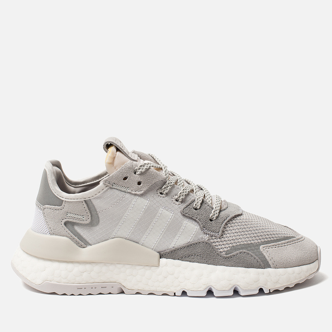 25baee58 Женские кроссовки adidas Originals Nite Jogger Grey One/Crystal White/Grey  Two