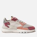 Женские кроссовки adidas Originals Nite Jogger Raw White/White/Trace Pink фото- 0