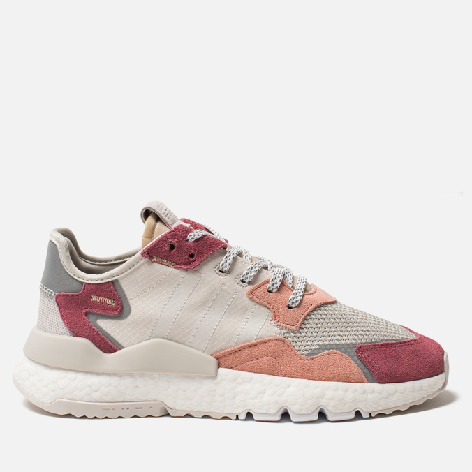 Женские кроссовки adidas Originals Nite Jogger Raw White/White/Trace Pink