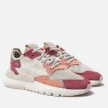 Женские кроссовки adidas Originals Nite Jogger Raw White/White/Trace Pink фото- 2