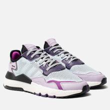 Женские кроссовки adidas Originals Nite Jogger Sky Tint/Vivid Pink/Purple Tint фото- 0