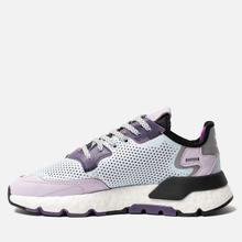 Женские кроссовки adidas Originals Nite Jogger Sky Tint/Vivid Pink/Purple Tint фото- 5