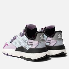 Женские кроссовки adidas Originals Nite Jogger Sky Tint/Vivid Pink/Purple Tint фото- 2