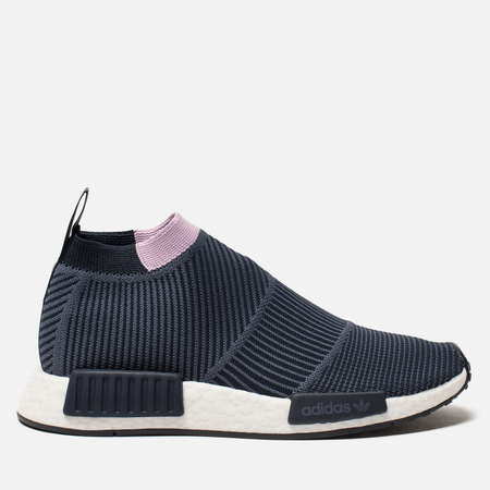 Женские кроссовки adidas Originals NMD City Sock 1 Primeknit Legend Ink/Legend Ink/Clear Lilac