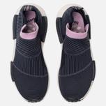 Женские кроссовки adidas Originals NMD City Sock 1 Primeknit Legend Ink/Legend Ink/Clear Lilac фото- 5