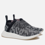 Женские кроссовки adidas Originals NMD City Sock 2 Primeknit BlackGrey/Black/Pink фото- 1