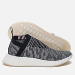 Женские кроссовки adidas Originals NMD City Sock 2 Primeknit BlackGrey/Black/Pink фото- 2