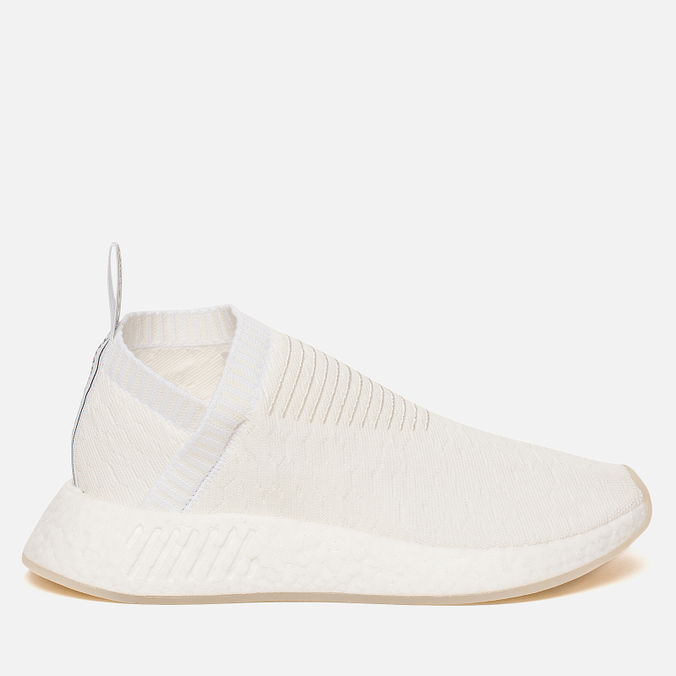 online store 0831f 97124 Женские кроссовки NMD City Sock 2 Primeknit Triple White