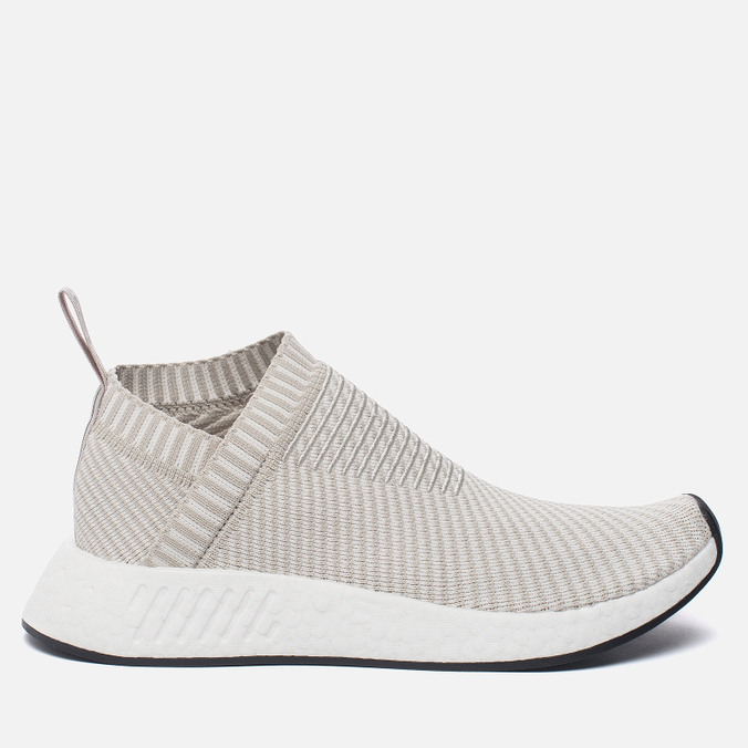 Женские кроссовки adidas Originals NMD CS2 Primeknit Pearl Grey/Pearl Grey/White