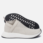 Женские кроссовки adidas Originals NMD CS2 Primeknit Pearl Grey/Pearl Grey/White фото- 1