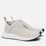 Женские кроссовки adidas Originals NMD CS2 Primeknit Pearl Grey/Pearl Grey/White фото- 2
