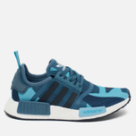 Женские кроссовки adidas Originals NMD R1 Blanch Blue/Collegiate Navy фото- 0
