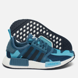 Женские кроссовки adidas Originals NMD R1 Blanch Blue/Collegiate Navy фото- 2