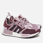 Женские кроссовки adidas Originals NMD R1 Blanch Purple/Night Red фото- 1