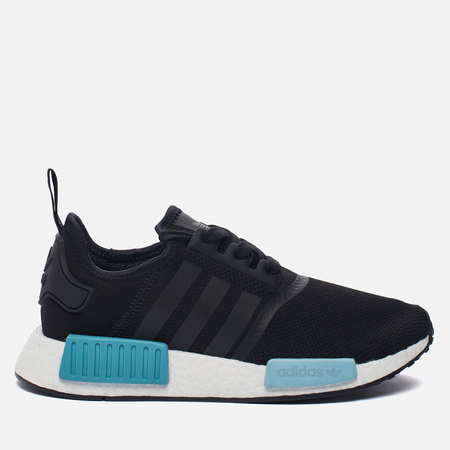 Женские кроссовки adidas Originals NMD R1 Core Black/Core Black/Icey Blue
