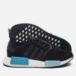 Женские кроссовки adidas Originals NMD R1 Core Black/Core Black/Icey Blue фото- 2