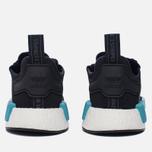 Женские кроссовки adidas Originals NMD R1 Core Black/Core Black/Icey Blue фото- 3
