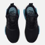Женские кроссовки adidas Originals NMD R1 Core Black/Core Black/Icey Blue фото- 5