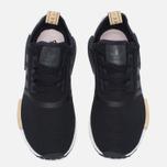 Женские кроссовки adidas Originals NMD R1 Core Black/Ice Purple/White фото- 4