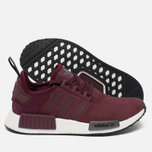 Женские кроссовки adidas Originals NMD R1 Maroon/Solid Grey фото- 2