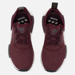 Женские кроссовки adidas Originals NMD R1 Maroon/Solid Grey фото- 3