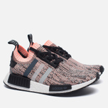 Женские кроссовки adidas Originals NMD R1 Primeknit Salmon Pink/White/Core Black фото- 2