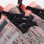 Женские кроссовки adidas Originals NMD R1 Primeknit Salmon Pink/White/Core Black фото- 3